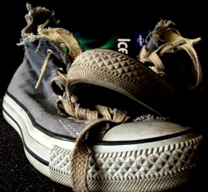 Reizen op sneakers