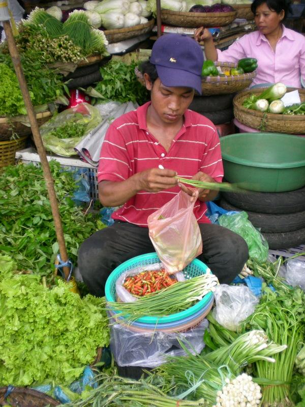 Markt, Phnom-Penh