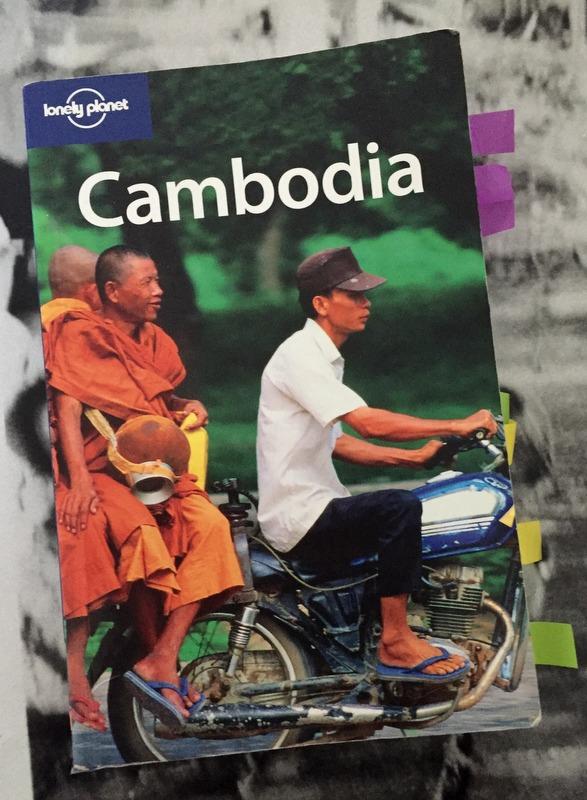 Lonely planet Cambodja