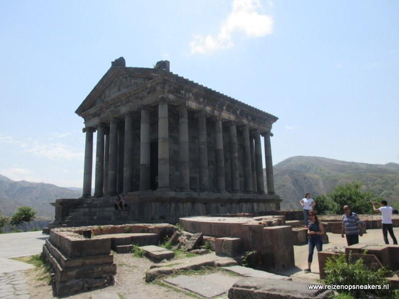 Tempel in Garni, Armenie