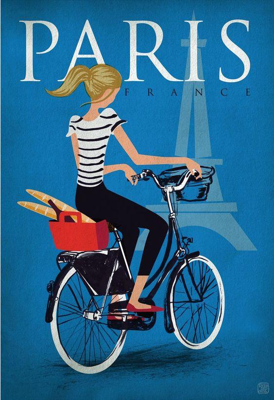 Vintage Parijs