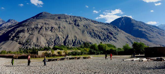 Travelling through Tajikistan