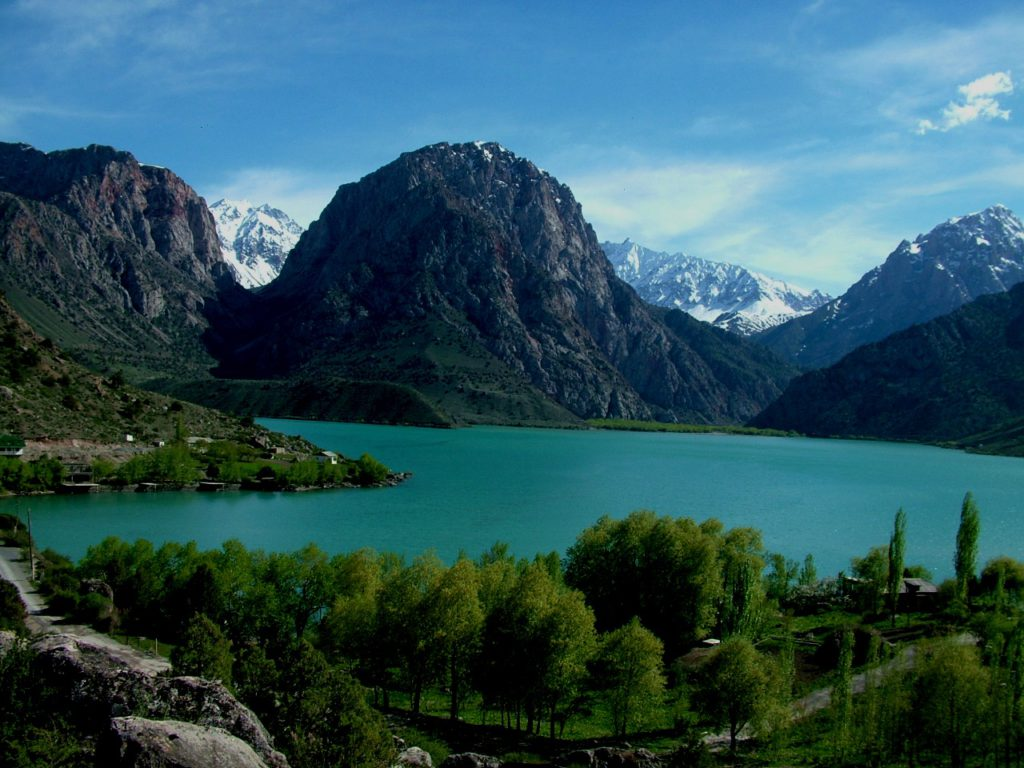 Lake of Alexander, Tadjikistan